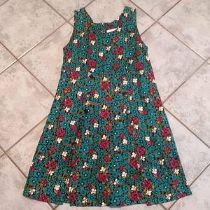 Vintage style romper dress